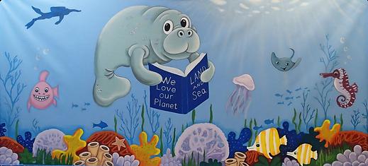 Marco Island muralist