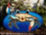 Blue Crab Sign