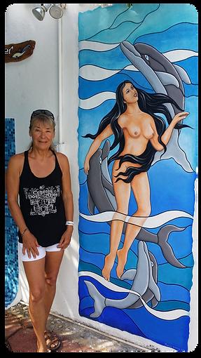 Marco Island mural artist