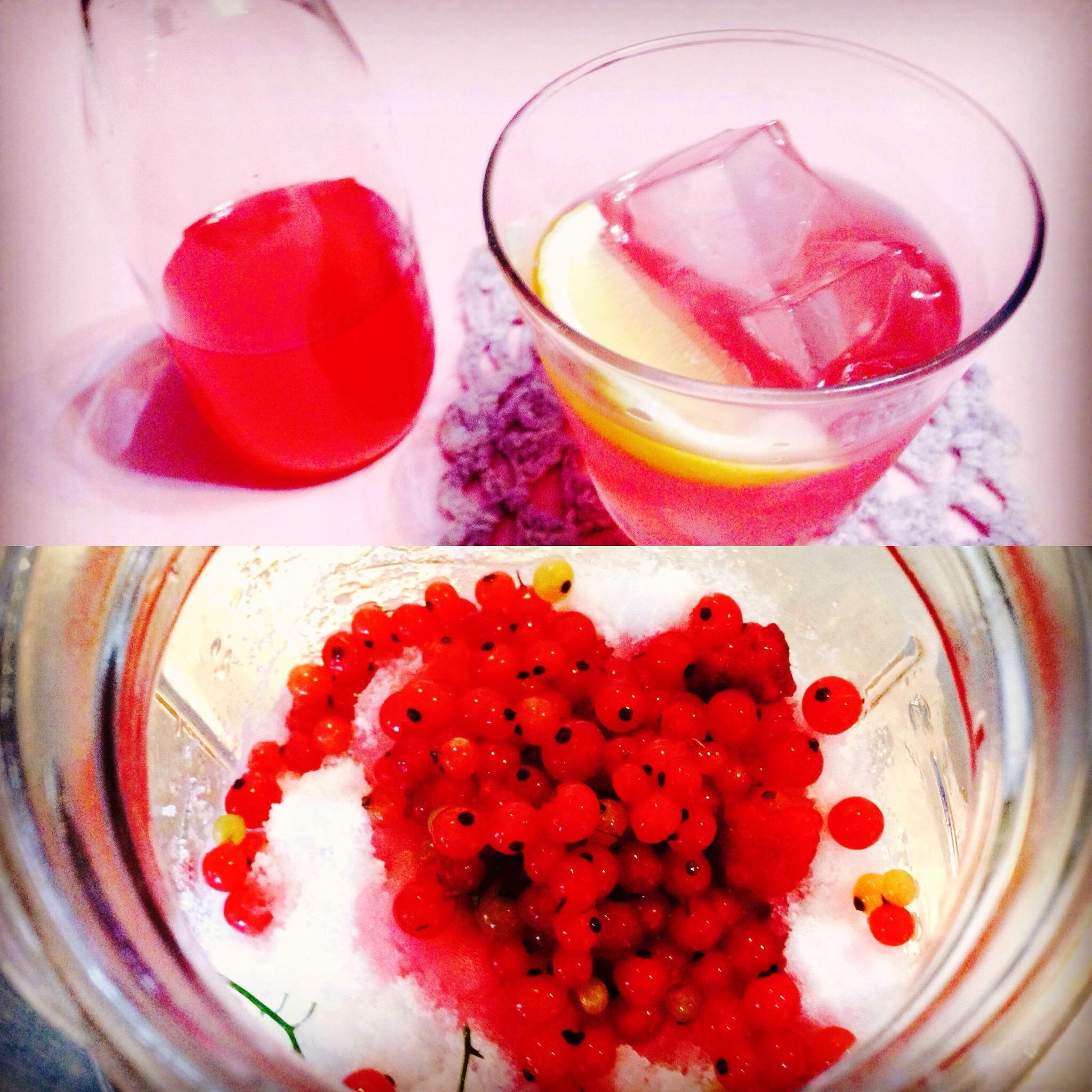 レッドカラントの酵素ジュース