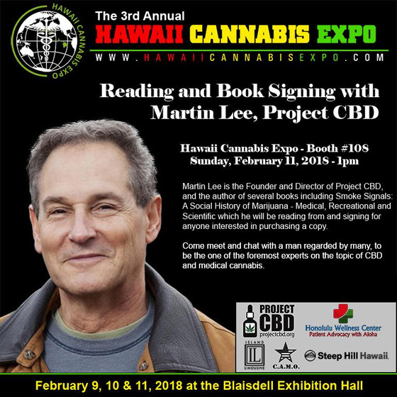 Open to the Public! 3rd Annual HAWAII CANNABIS EXPO!