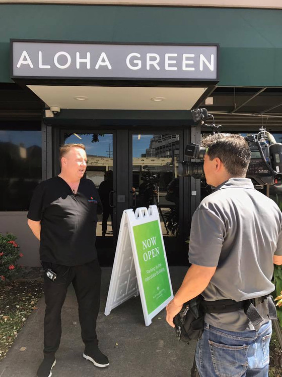 First Oahu, Hawaii Dispensary OPENS! I was the second patient in line to get in and purchase medicin