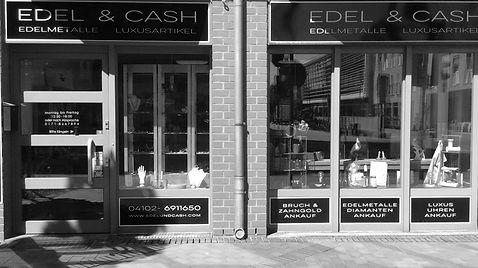 Ladengeschäft Goldankauf Edel&Cash