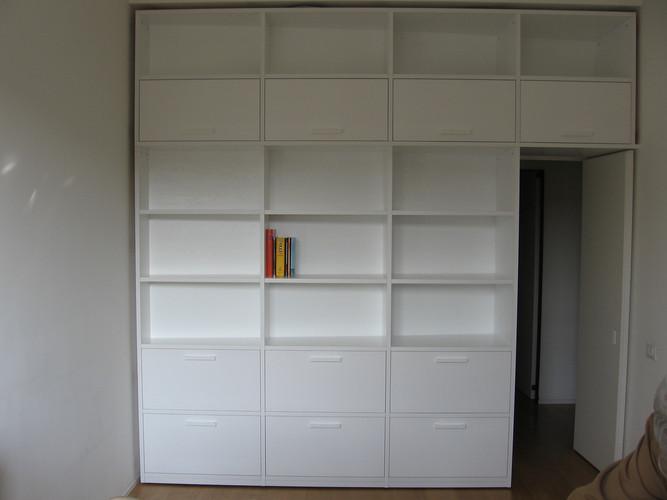 Libreria Ribalta Cassetti Laccata