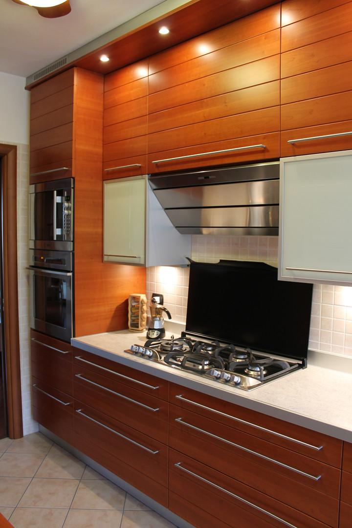 Cucina in Ciliegio