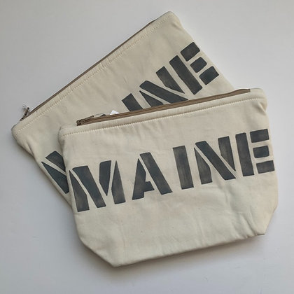 SALE Cosmetic Bag - Gray
