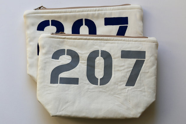 Area Code Cosmetic Bag