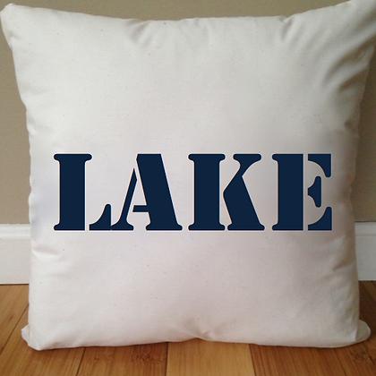 Day at the Lake Pillow