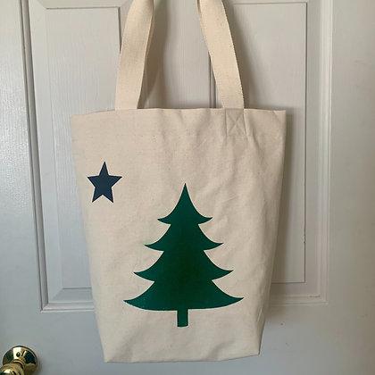 Maine Flag Tote Bag