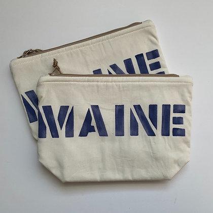 SALE Cosmetic Bag - Blue