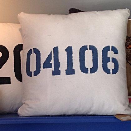 Printed Nautical Pillow - Custom