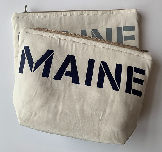"""MAINE"" Cosmetic Bag"