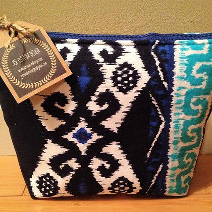 Blue Aztec Bag