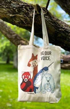 The C.O.P.E project tote bag