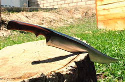 Rustic Bowie Knife