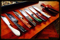 Dark Timber Custom Knives Collection