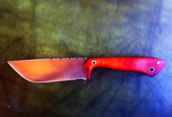 Dark Timber Custom Knives Camp
