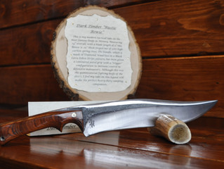 "Dark Timber ""Rustic Bowie"" For Sale $380"
