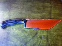 chopper knife, chopper blade, chopper knives, chopper blades, Colorado made blades, Colorado blacksmith, Rocky Mountain blacksmith, Rocky Mountain knife, Made in USA, USA knives, USA blades, USA made knives, USA made blades, custom made bowie chopper knife