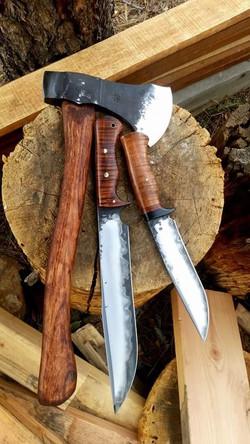 Axe-Norseman-Honey Badger