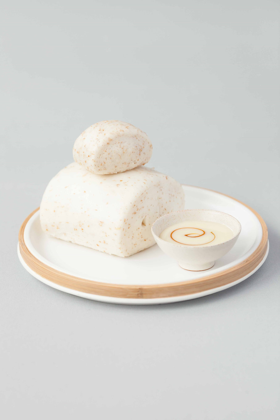 48. Steamed Coconut Milk Buns with Oat B
