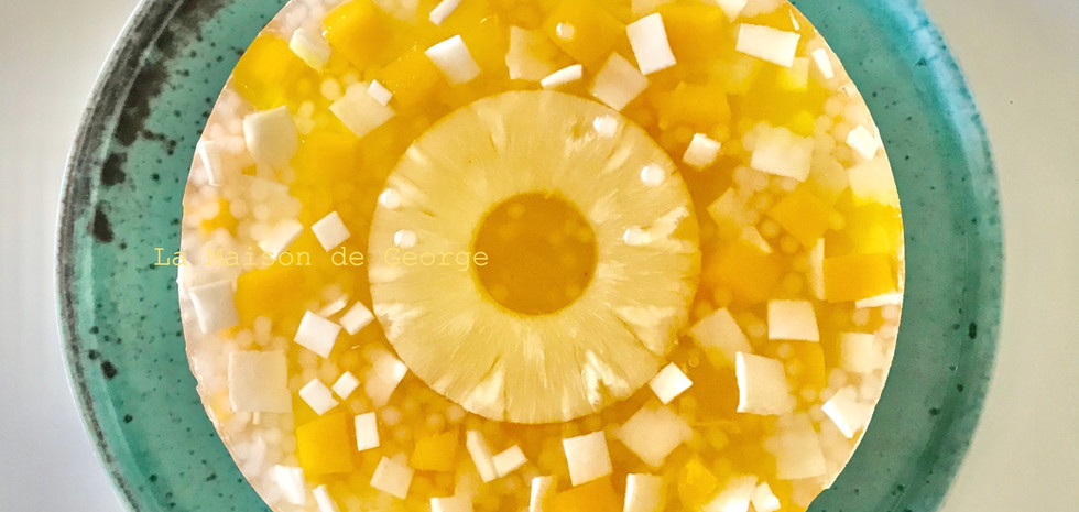 Piña Colada Cheese Cake