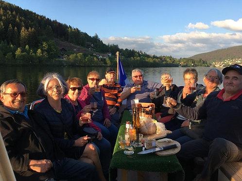 L'Apéritif Tour ( apéritif dinatoire au lac de Gérardmer de Mai à Septembre !)