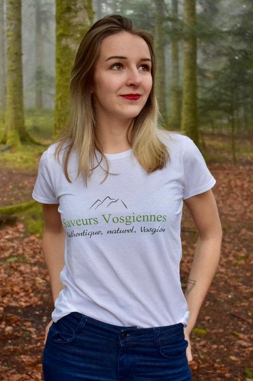 T-shirt sérigraphié Hautes Vosges !