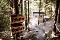 Toilettes dômes
