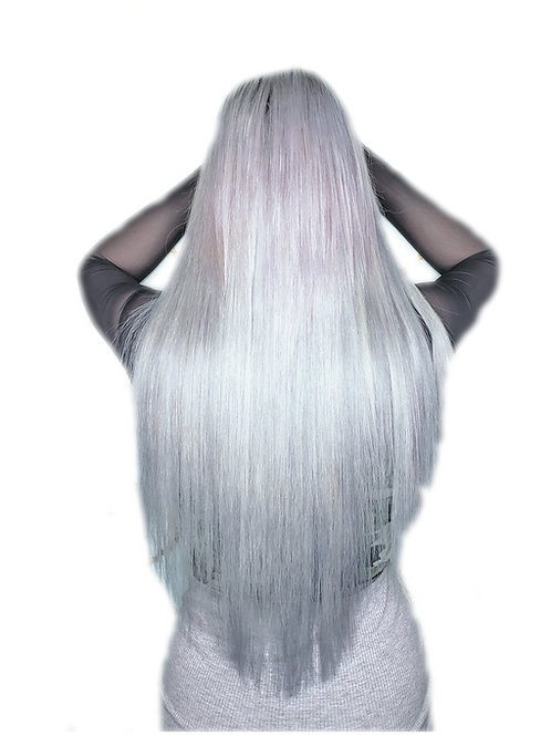 Clip In Extensions #Silver