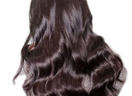Machine Weft Hair #1B