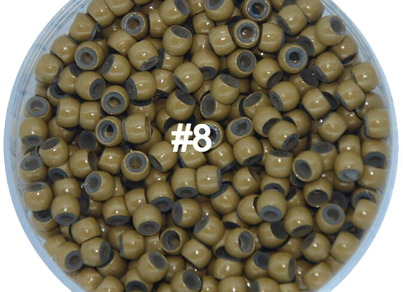 5 Color Silicone Nano Micro Rings Lead/Nicke Free  1000pcs/Jar