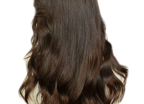 Hand Tied Weft Hair #4