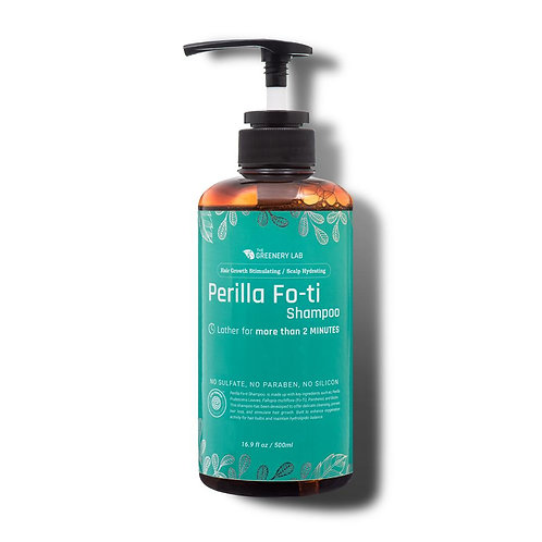 The Greenery Lab Hair Growth & Thickening Perilla Fo-Ti Shampoo (16.9 Oz.)
