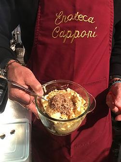 Beurre minute a la truffe blanche d'Alba