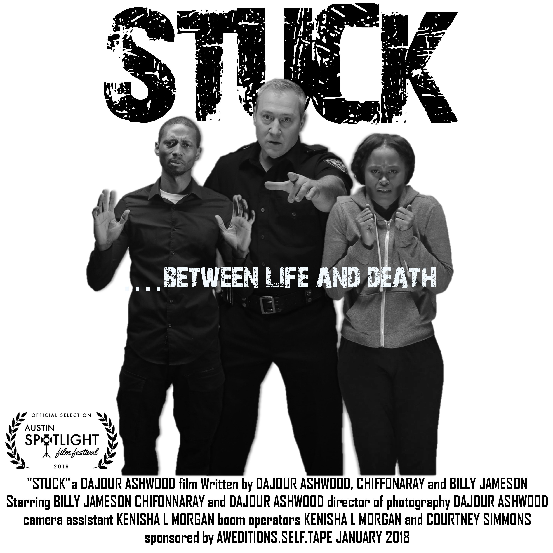 STUCK Poster 10x10 - ASFF
