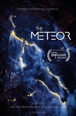The Meteor POSTER 5-31-18 Austin Spotlight Film Festival Laurel