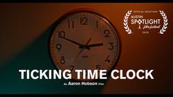 Ticking Time Clock Mini Poster