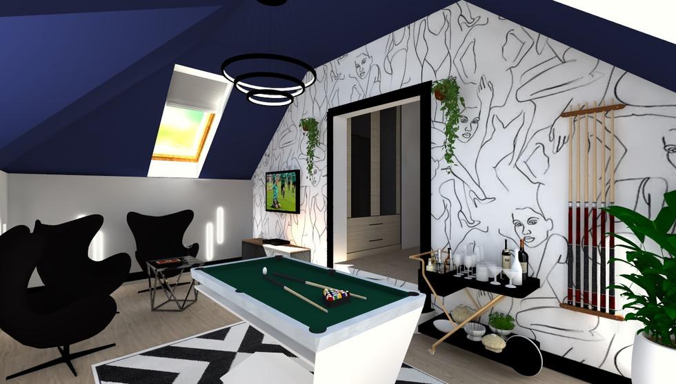Pokój bilardowy