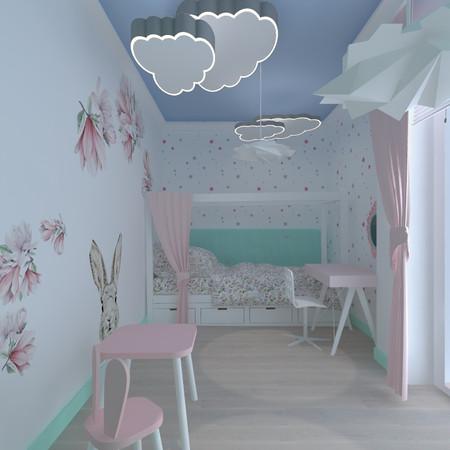 Pokój dla dziewczynki, Warszawa