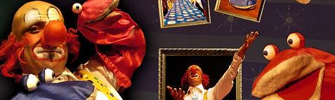 Eric Tip et Tap avec La compagnie Lune à l'autre Spectacle de claquettes et de marionnettes pour enfant drome