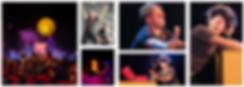 Le poids des confettis avec La compagnie Lune à l'autre Spectacle enfant, spectacle de clown Vaucluse spectacle pour entreprises dans la Drome, bouches du rhone, Gard