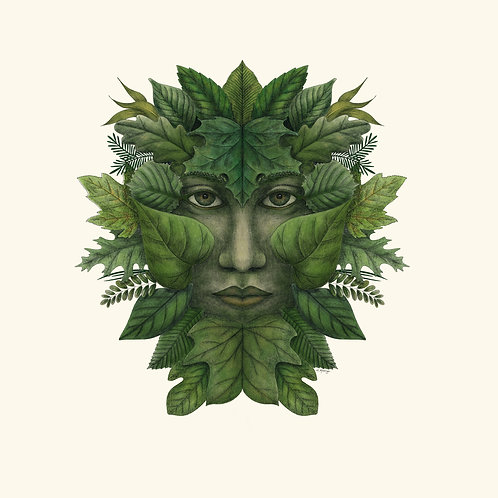 Green Man of the Northern Forests - Summer Color