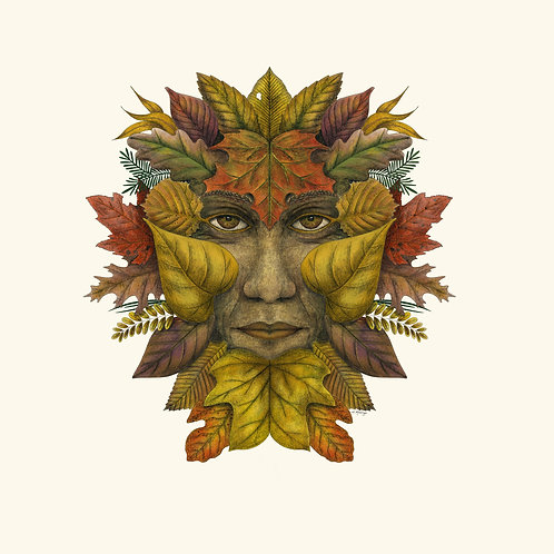 Green Man of the Northern Forests - Autumn Color