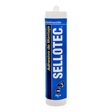 Sellotec Adhesivo Montaje Blanco 300ml