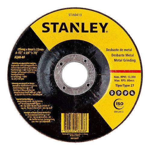 "Stanley Disco Desbaste metal 4.5"""