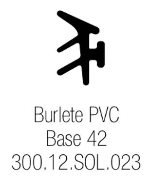 Burlete PVC Base 42