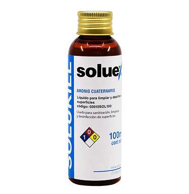 SOLUKILL Concentrado Amonio Cuaternario 100ml – Rinde 2500ml