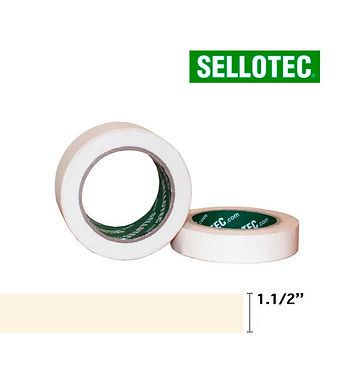 Sellotec Cinta Adhesiva de Papel 1.1/2 x 40 mt.