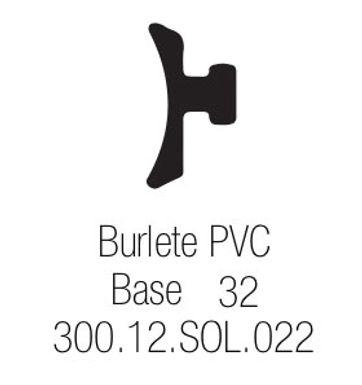 Burlete PVC Base 32